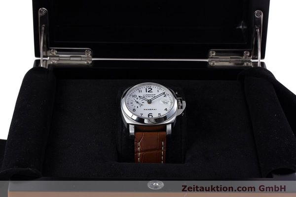 Used luxury watch Panerai Luminor Marina steel automatic Kal. ETA A05511 Ref. OP6625, PAM00049  | 160145 07