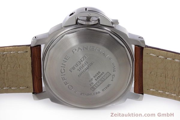 Used luxury watch Panerai Luminor Marina steel automatic Kal. ETA A05511 Ref. OP6625, PAM00049  | 160145 09