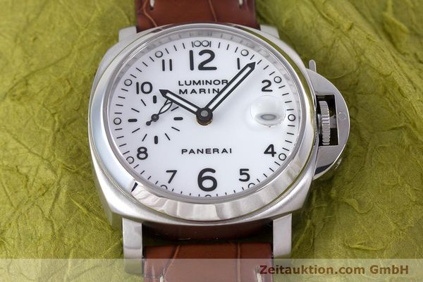 Used luxury watch Panerai Luminor Marina steel automatic Kal. ETA A05511 Ref. OP6625, PAM00049  | 160145 17
