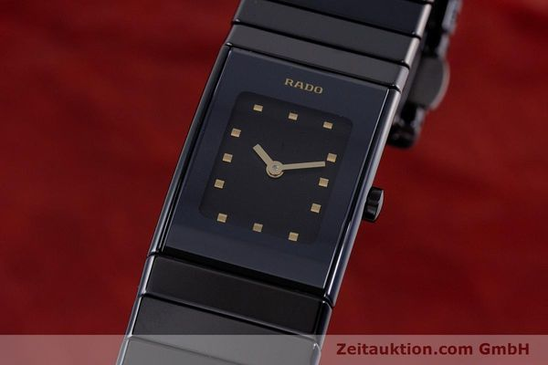 Used luxury watch Rado Diastar ceramic / steel quartz Kal. ETA 280.002 Ref. 963.0539.3  | 160146 04