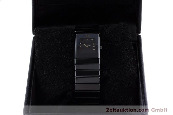 Used luxury watch Rado Diastar ceramic / steel quartz Kal. ETA 280.002 Ref. 963.0539.3  | 160146 07