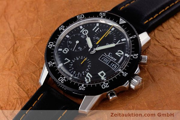 Used luxury watch Sinn 103 St Hd chronograph steel manual winding Kal. ETA 7750 Ref. 103.16474  | 160149 01