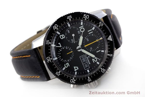 Used luxury watch Sinn 103 St Hd chronograph steel manual winding Kal. ETA 7750 Ref. 103.16474  | 160149 03