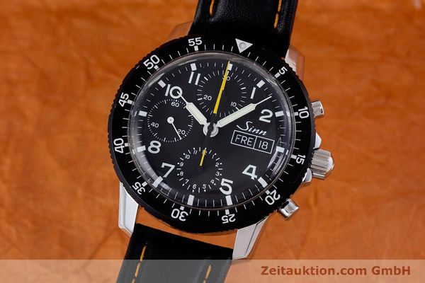 Used luxury watch Sinn 103 St Hd chronograph steel manual winding Kal. ETA 7750 Ref. 103.16474  | 160149 04