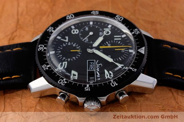 Used luxury watch Sinn 103 St Hd chronograph steel manual winding Kal. ETA 7750 Ref. 103.16474  | 160149 05