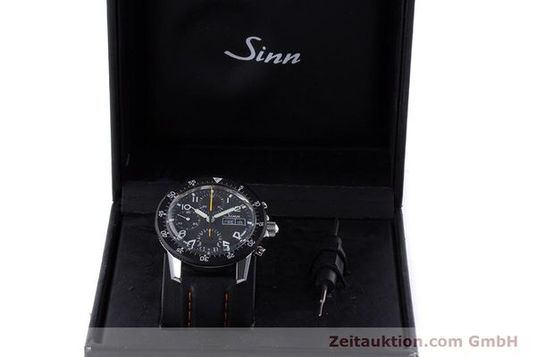 Used luxury watch Sinn 103 St Hd chronograph steel manual winding Kal. ETA 7750 Ref. 103.16474  | 160149 07