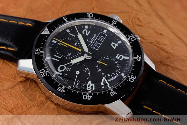 Used luxury watch Sinn 103 St Hd chronograph steel manual winding Kal. ETA 7750 Ref. 103.16474  | 160149 15