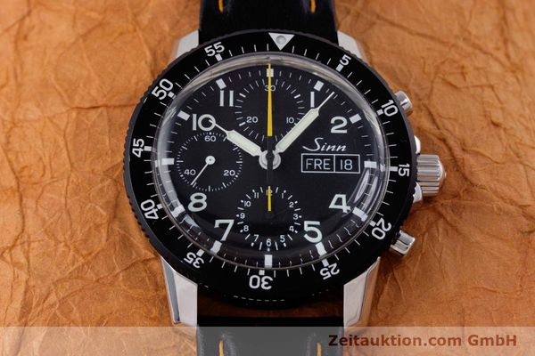 Used luxury watch Sinn 103 St Hd chronograph steel manual winding Kal. ETA 7750 Ref. 103.16474  | 160149 16