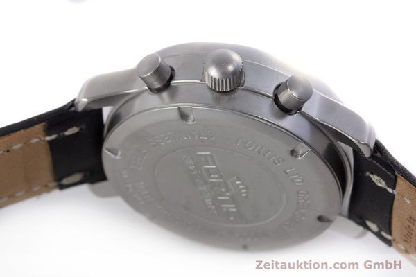 Used luxury watch Fortis Flieger Chronograph chronograph steel automatic Kal. ETA 7750 Ref. 597.10.141  | 160150 08