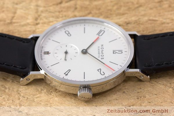 Used luxury watch Nomos Tangente steel manual winding Kal. Alpha LIMITED EDITION | 160158 05
