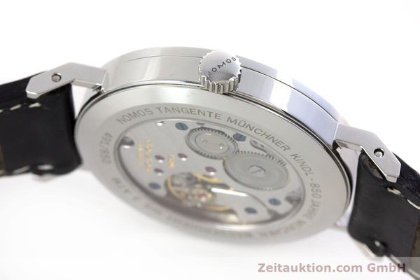 Used luxury watch Nomos Tangente steel manual winding Kal. Alpha LIMITED EDITION | 160158 11