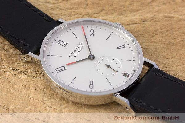 Used luxury watch Nomos Tangente steel manual winding Kal. Alpha LIMITED EDITION | 160158 15