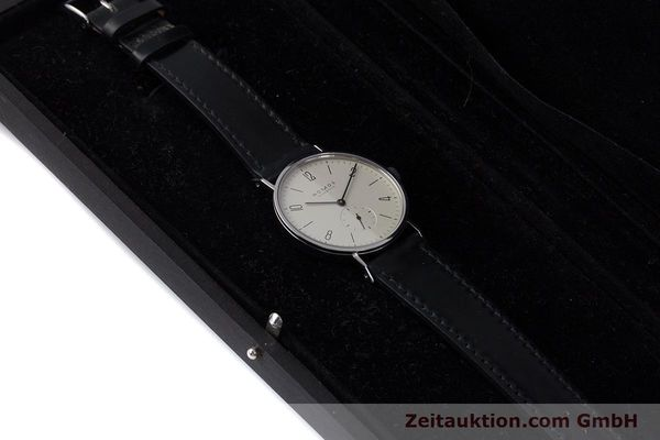 Used luxury watch Nomos Tangente steel manual winding Kal. ETA 7001  | 160163 07