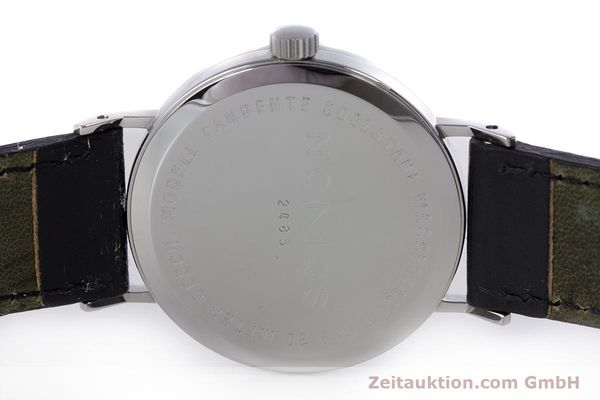 Used luxury watch Nomos Tangente steel manual winding Kal. ETA 7001  | 160163 09