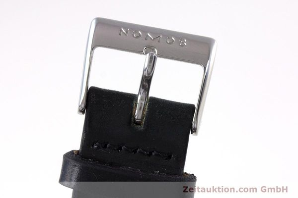 Used luxury watch Nomos Tangente steel manual winding Kal. ETA 7001  | 160163 12