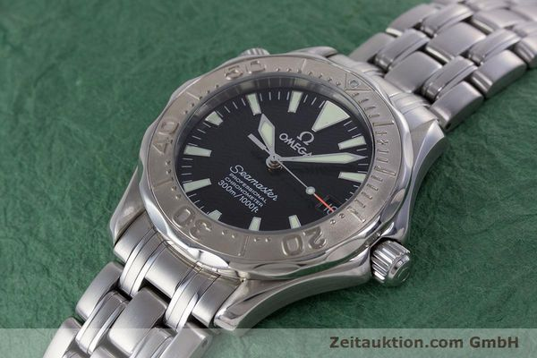 Used luxury watch Omega Seamaster steel automatic Kal. 1120  | 160174 01