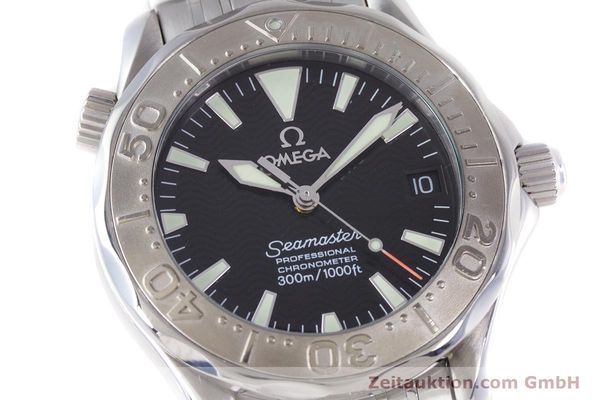 Used luxury watch Omega Seamaster steel automatic Kal. 1120  | 160174 02