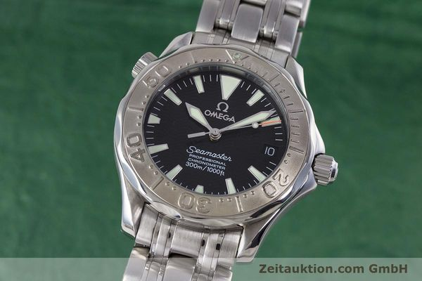 Used luxury watch Omega Seamaster steel automatic Kal. 1120  | 160174 04