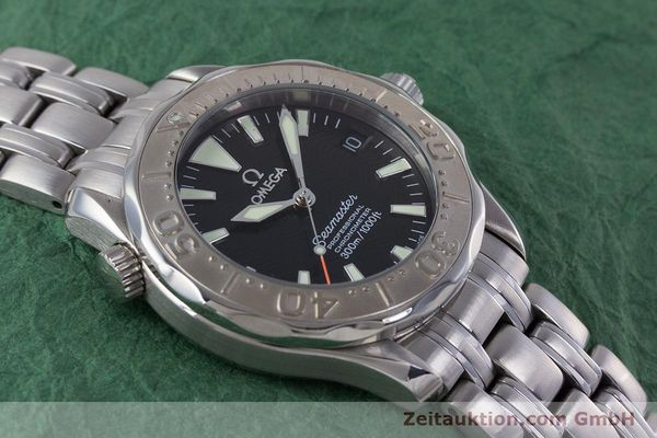Used luxury watch Omega Seamaster steel automatic Kal. 1120  | 160174 16