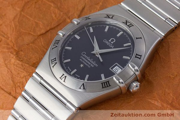 Used luxury watch Omega Constellation steel automatic Kal. 1120  | 160175 01