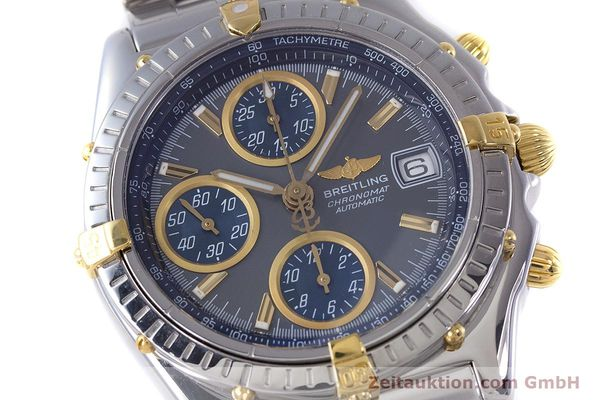 Used luxury watch Breitling Chronomat chronograph steel / gold automatic Kal. B13 ETA 7750 Ref. B13050.1  | 160180 02