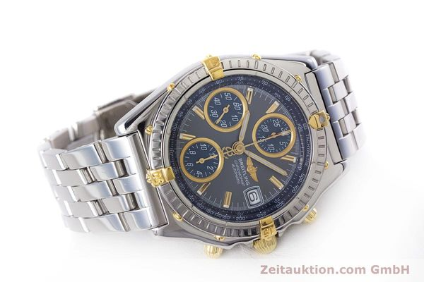 Used luxury watch Breitling Chronomat chronograph steel / gold automatic Kal. B13 ETA 7750 Ref. B13050.1  | 160180 03