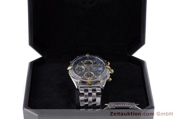Used luxury watch Breitling Chronomat chronograph steel / gold automatic Kal. B13 ETA 7750 Ref. B13050.1  | 160180 07
