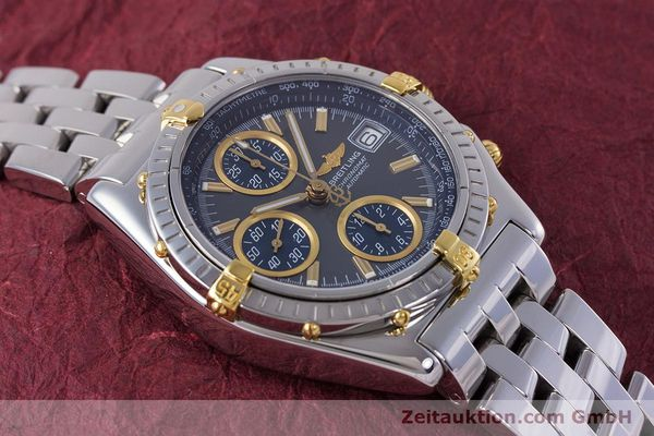 Used luxury watch Breitling Chronomat chronograph steel / gold automatic Kal. B13 ETA 7750 Ref. B13050.1  | 160180 14
