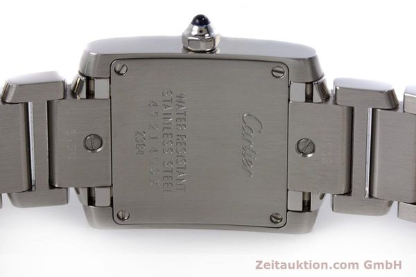 Used luxury watch Cartier Tank Francaise steel quartz Kal. 057 Ref. 2384  | 160185 09