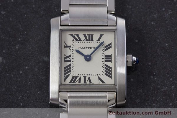 Used luxury watch Cartier Tank Francaise steel quartz Kal. 057 Ref. 2384  | 160185 15