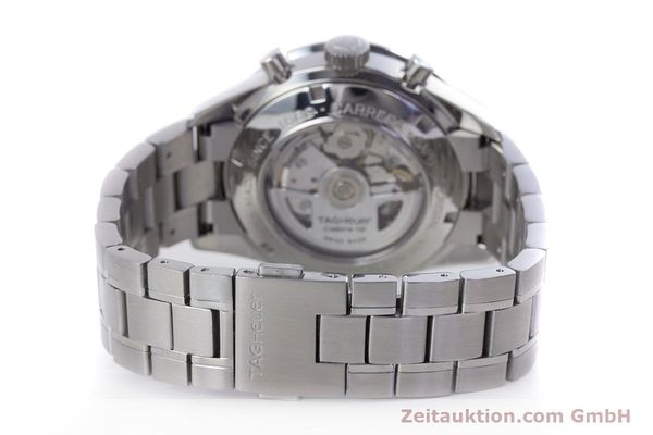 Used luxury watch Tag Heuer Carrera chronograph steel automatic Kal. TH 16 ETA 7750 Ref. CV2010-3  | 160192 10