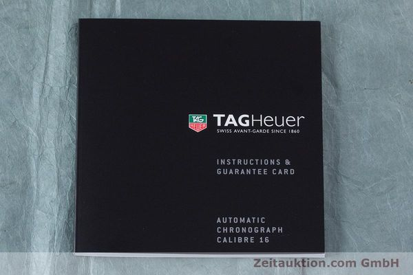 Used luxury watch Tag Heuer Carrera chronograph steel automatic Kal. TH 16 ETA 7750 Ref. CV2010-3  | 160192 12