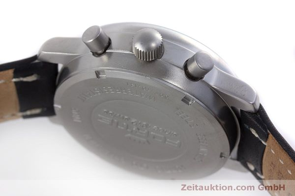 Used luxury watch Fortis Flieger Chronograph chronograph steel automatic Kal. ETA 7750 Ref. 597.10.141  | 160194 08