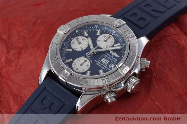 Used luxury watch Breitling Superocean Chronograph chronograph steel automatic Kal. B13 ETA 7750 Ref. A13340  | 160203 01