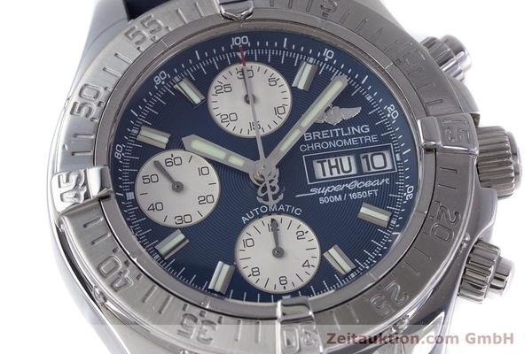 Used luxury watch Breitling Superocean Chronograph chronograph steel automatic Kal. B13 ETA 7750 Ref. A13340  | 160203 02