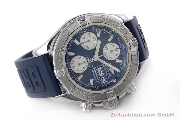 Used luxury watch Breitling Superocean Chronograph chronograph steel automatic Kal. B13 ETA 7750 Ref. A13340  | 160203 03
