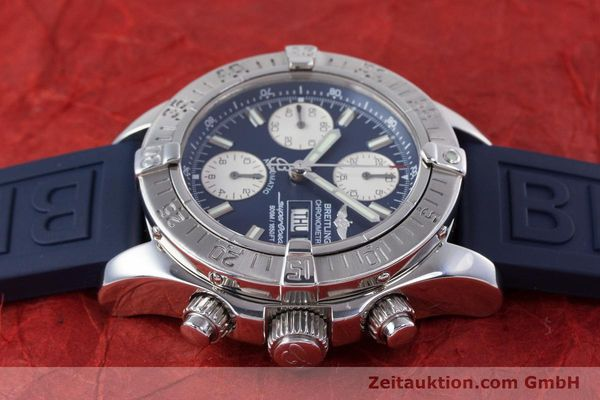 Used luxury watch Breitling Superocean Chronograph chronograph steel automatic Kal. B13 ETA 7750 Ref. A13340  | 160203 05