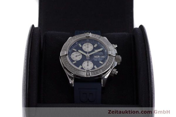 Used luxury watch Breitling Superocean Chronograph chronograph steel automatic Kal. B13 ETA 7750 Ref. A13340  | 160203 07