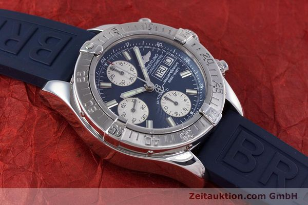 Used luxury watch Breitling Superocean Chronograph chronograph steel automatic Kal. B13 ETA 7750 Ref. A13340  | 160203 16