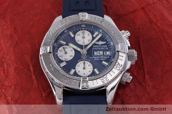 Used luxury watch Breitling Superocean Chronograph chronograph steel automatic Kal. B13 ETA 7750 Ref. A13340  | 160203 17