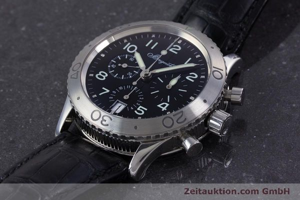 Used luxury watch Breguet Type XX chronograph steel automatic Kal. 582 Ref. 3820  | 160209 01
