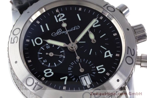 Used luxury watch Breguet Type XX chronograph steel automatic Kal. 582 Ref. 3820  | 160209 02