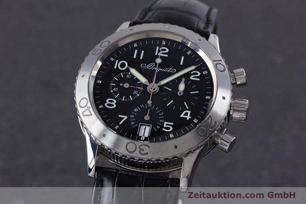 Used luxury watch Breguet Type XX chronograph steel automatic Kal. 582 Ref. 3820  | 160209 04