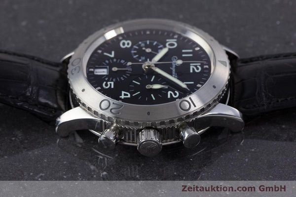 Used luxury watch Breguet Type XX chronograph steel automatic Kal. 582 Ref. 3820  | 160209 05
