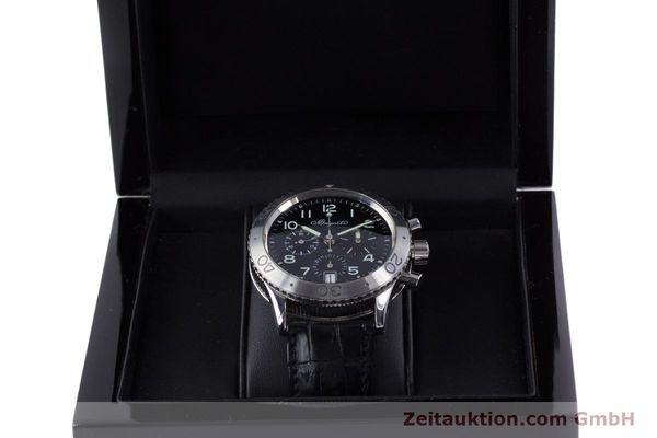 Used luxury watch Breguet Type XX chronograph steel automatic Kal. 582 Ref. 3820  | 160209 07