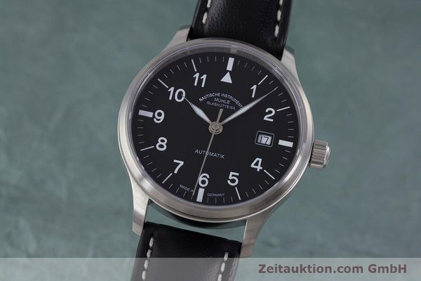 Used luxury watch Mühle Terrasport  steel automatic Kal. Sellita SW200-1 Ref. M1-37-60  | 160211 04