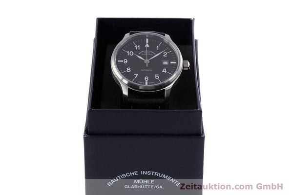 Used luxury watch Mühle Terrasport  steel automatic Kal. Sellita SW200-1 Ref. M1-37-60  | 160211 07