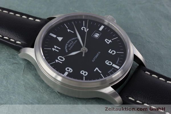 Used luxury watch Mühle Terrasport  steel automatic Kal. Sellita SW200-1 Ref. M1-37-60  | 160211 15