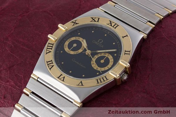 Used luxury watch Omega Constellation steel / gold quartz Kal. 1445 ETA 255.472  | 160212 01