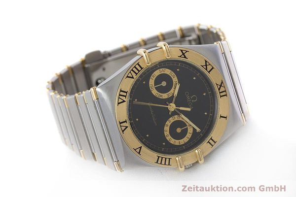 Used luxury watch Omega Constellation steel / gold quartz Kal. 1445 ETA 255.472  | 160212 03